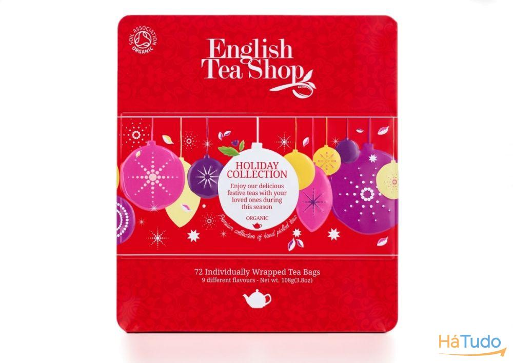 Red Baubles Tin