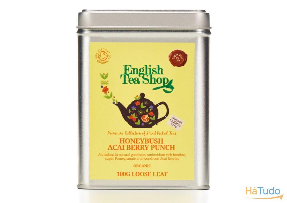 Mistura de bagas Açaí & Honeybush (sem cafeína)