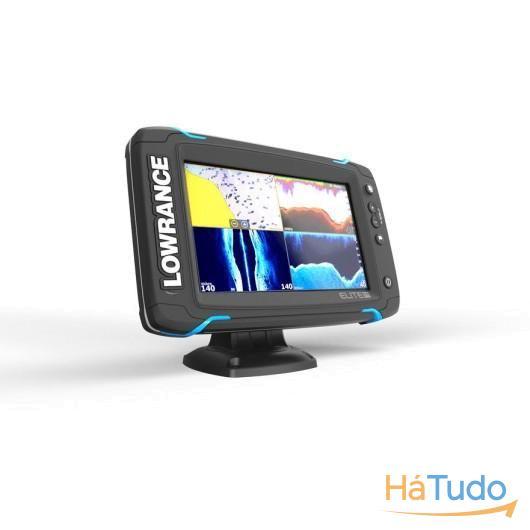Elite 7 TI Touch Media/Alta/TotalScan e C-MAP Europa do Norte