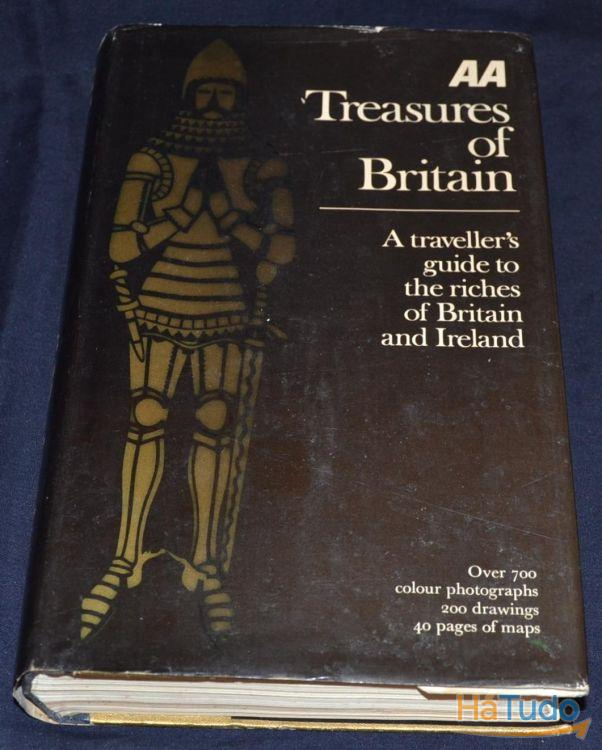 Livro Treasures of Britain Traveller's Guide to the riches of Britain and Ireland