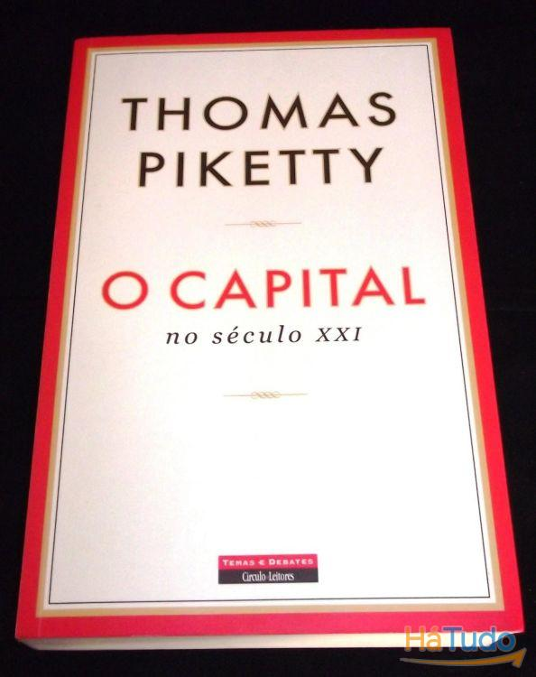 Livro O Capital no século XXI Thomas Piketty