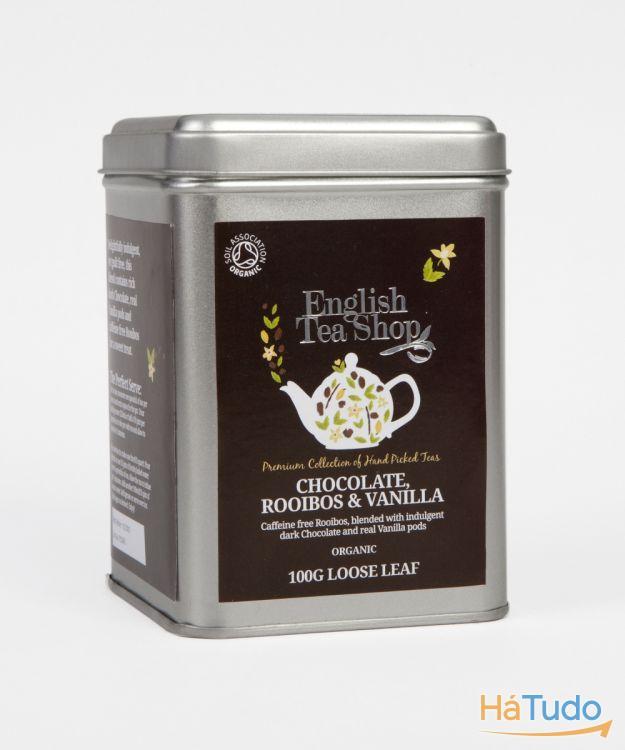 Rooibos Chocolate & Baunilha (sem cafeína)