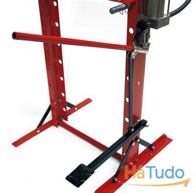 Prensa Hidraulica 20T de mão e com pedal