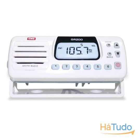Auto-Rádio Marítimo AM/FM/VHF e leitor de MP3  GR200