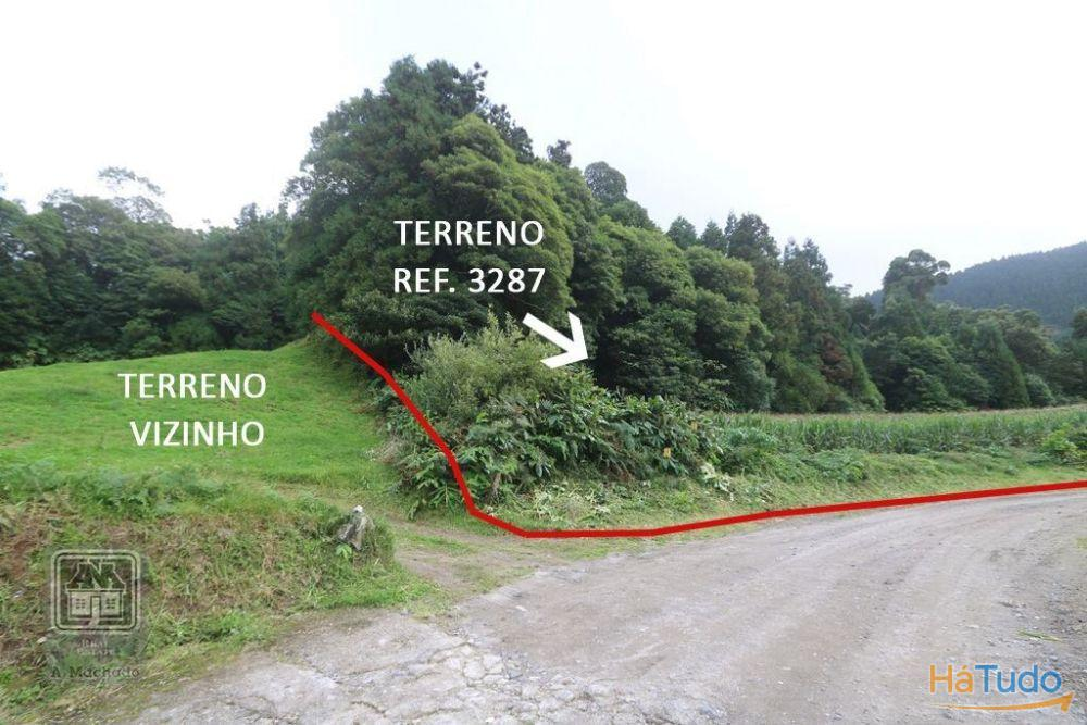 Ref. 3287 - Terreno (Prédio Rústico) - Sete Cidades, Ponta Delgada, Ilha de Sao Miguel, Açores