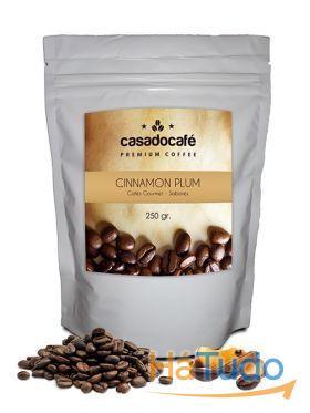 Café em Grão Cinnamon Plum 250 grs