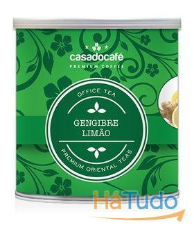 Chá Gourmet Limão Gengibre 50 grs - 25 Chás