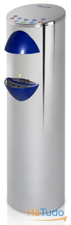 Maquina de agua fria, natural e quente e com gás em aço inox - Ligação á rede
