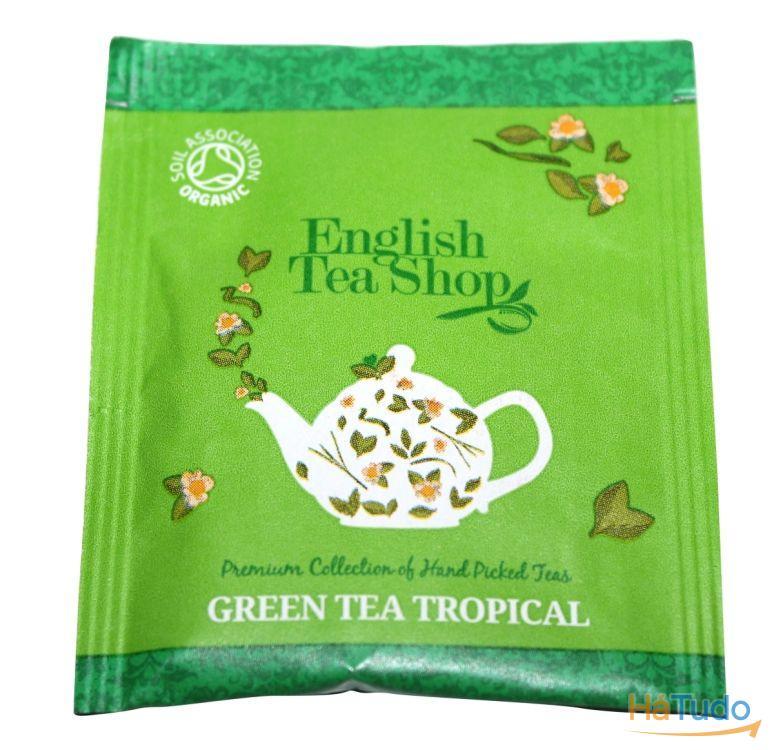 Chá Verde Tropical