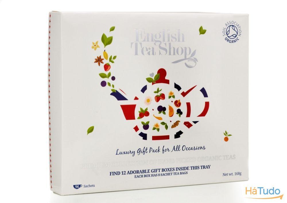 Luxuoso pack de chá Orgânico p/ oferecer *6 sabores