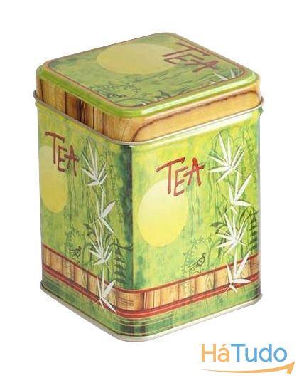 Lata de Chá Bamboo