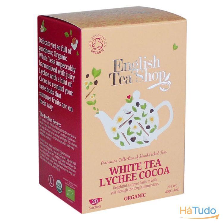 Chá Branco Lycheas & côco