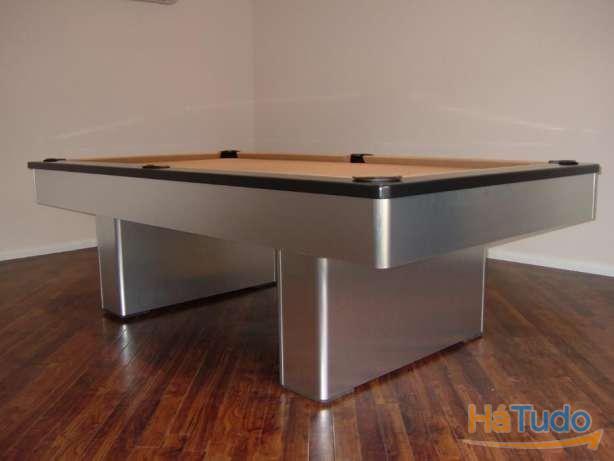 Bilhar lacado aluminio oferta tampo Bilhares Xavigil