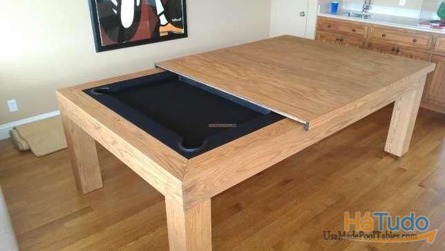 Bilhar com mesa jantar oferta novidade fabricante Bilhares Xavigil