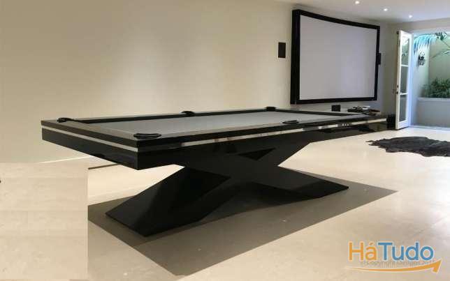 Bilhares Xavigil bilhar design original com tampo mesa +entrega
