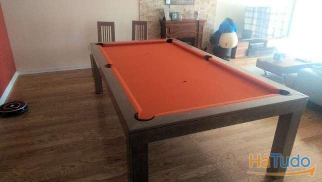 Bilhar Orange oferta tampo garantia fabricante Bilhares Xavigil