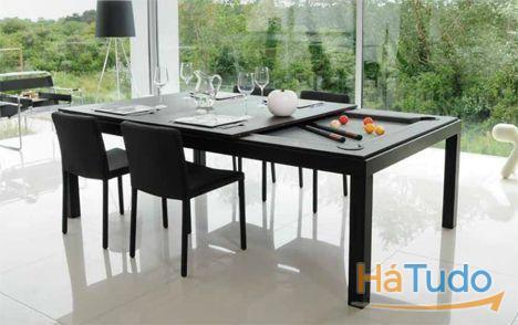 Bilhar mesa jantar aberto todos dias design by Bilhares Xavigil