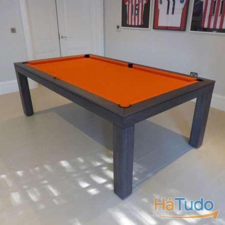 Bilhar Orange steel Grey oferta tampo Bilhares xavigil