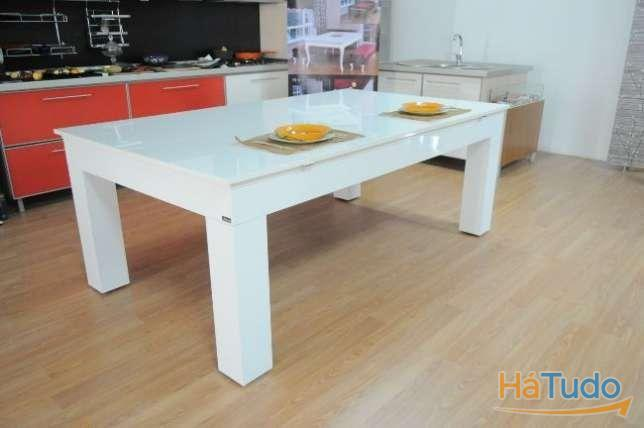 Bilhares Xavigil Big white com tampo oferta fabricante aberto domingo