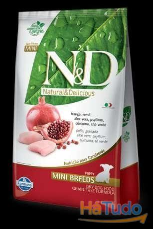 Farmina N&D (Grain Free) Puppy Mini e Medium - Frango