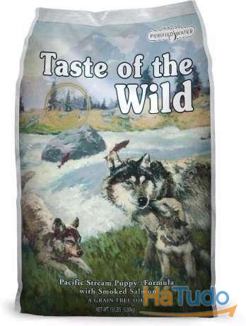 Taste of the Wild Pacific Stream Puppy - Salmão