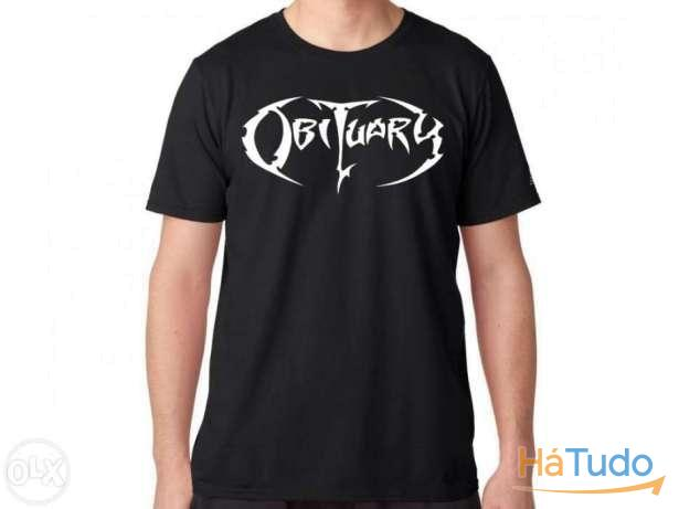 Obituary - T-shirt - Nova - Unisexo