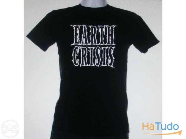 Earth Crisis - T-shirt - Nova - Unisexo