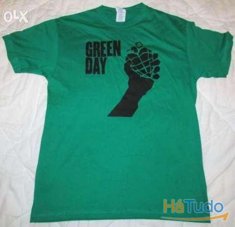 Green Day - T-shirt - Nova - Unisexo