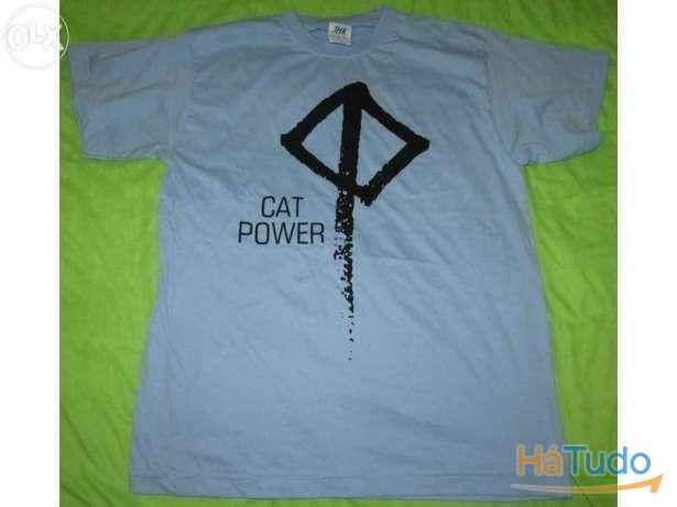 Cat Power - T-shirt - Nova - Unisexo