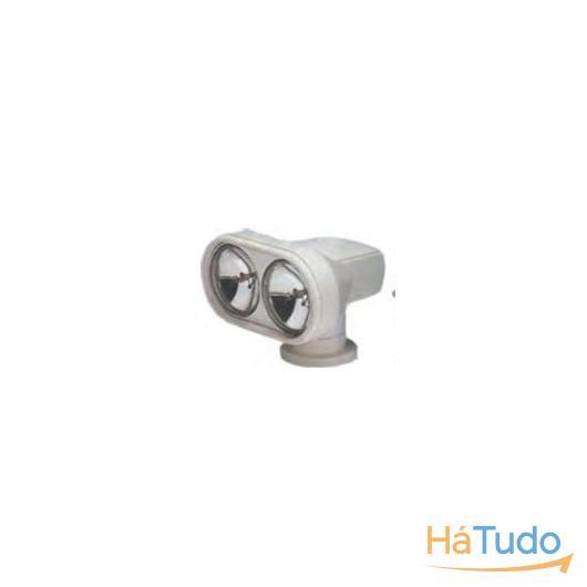 Holofote duplo eletronico
