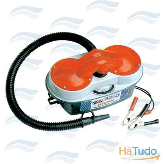 Mini compressor eletrico BRAVO 12V max 4.4psi 150l