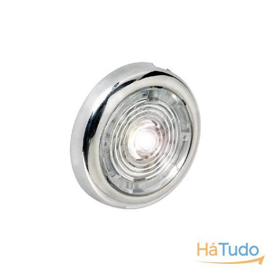 LED Redondo Interior/Exterior Aço Inoxidável 102mm
