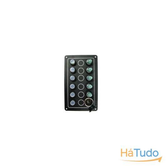 Quadro eletrico 5 interruptores