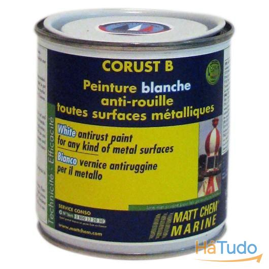 CORUST B Tinta Branca anti-ferrugem 250ml
