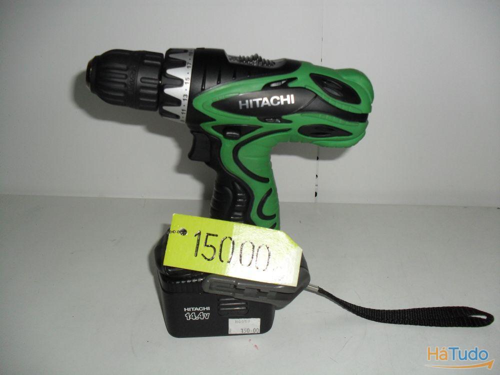 Aparafusador / Berbequim HITACHI DS14DVF - bateria