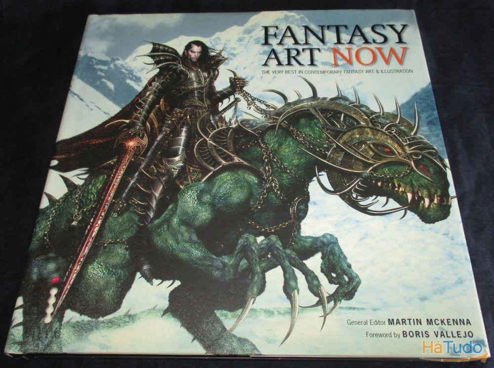 Livro Fantasy Art Now Contemporary illustration Martin Mckenna Boris Vallejo