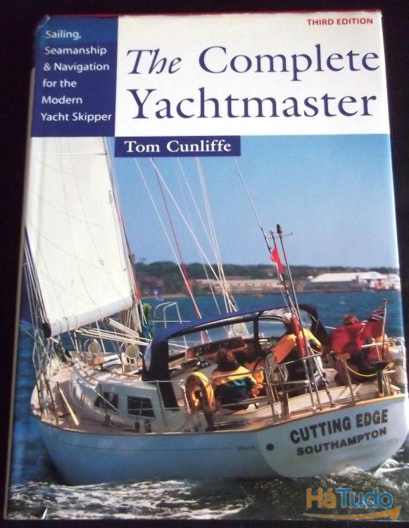 Livro The complete Yachtmaster Cunliffe navegação