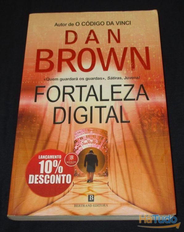 Livro Fortaleza digital Dan Brown Bertrand