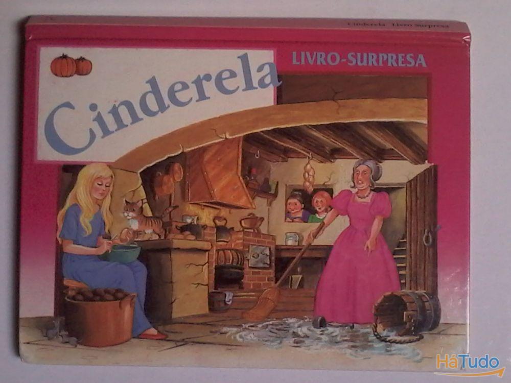 Cinderela-Livro Surpresa em 3D