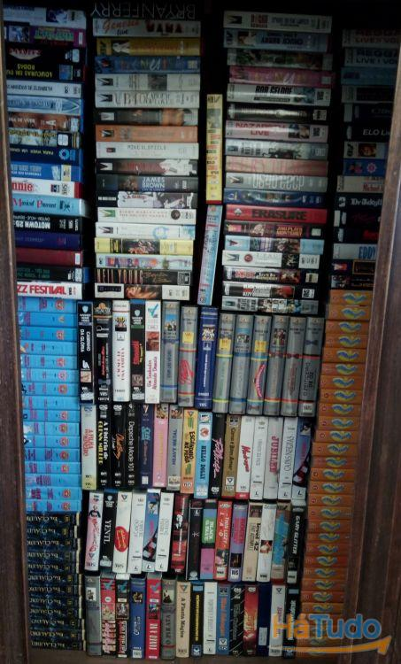 VHS + DVD + CD-Rom originais (mais de 600)