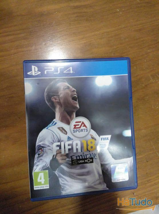 Jogo da PlayStation 4 FIFA 18