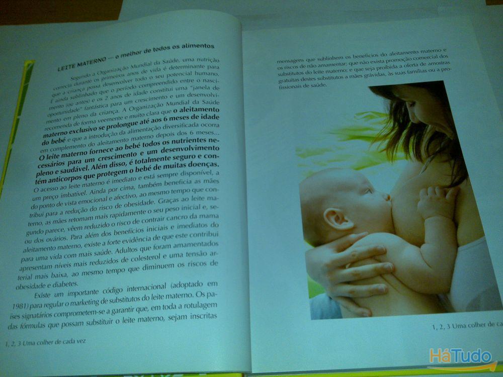 1, 2, 3 uma colher de cada vez - guia de alimentação infantil (joão breda e maria antónia peças) 1ª edição 2011 livro