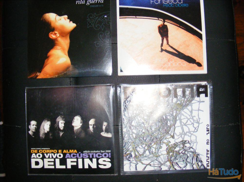 17 CD Singles originais - novos