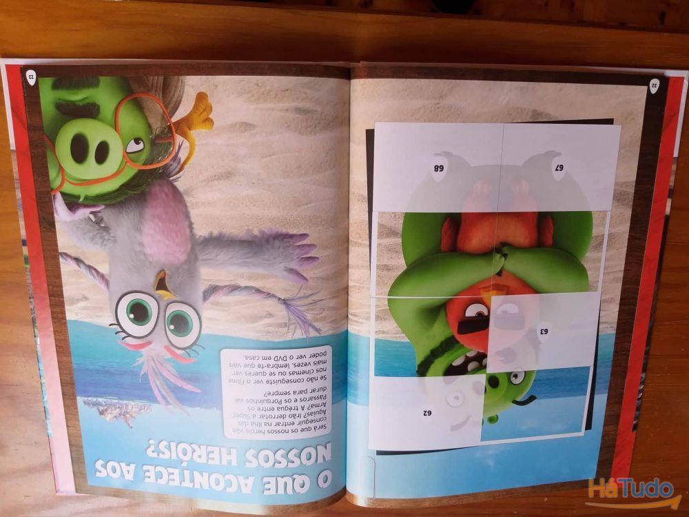 Álbum de cromos Angry Birds