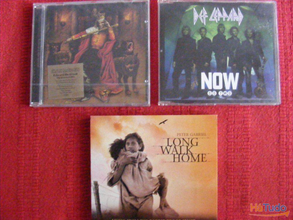 Cd NOVOS - Ben Harper, Mariah Carey, Tina Turner, Iron Maiden, Def Leppard, Moby