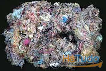 trapo e desperdício para limpezas