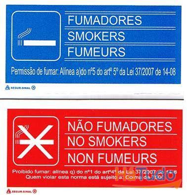 sinalização e plantas de emergencia