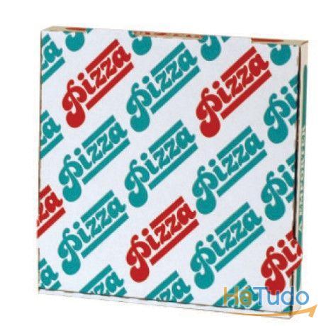 caixas pizza e pronto a comer