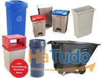 baldes lixo