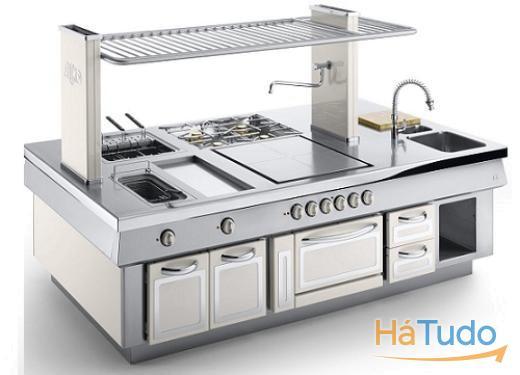 fritadeiras e fogões industriais
